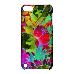 Floral Abstract 1 Apple iPod Touch 5 Hardshell Case with Stand