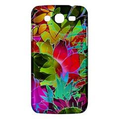 Floral Abstract 1 Samsung Galaxy Mega 5 8 I9152 Hardshell Case