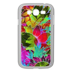 Floral Abstract 1 Samsung Galaxy Grand Duos I9082 Case (white)
