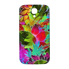 Floral Abstract 1 Samsung Galaxy S4 I9500/I9505  Hardshell Back Case