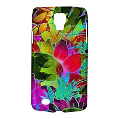 Floral Abstract 1 Samsung Galaxy S4 Active (i9295) Hardshell Case