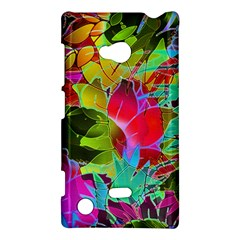 Floral Abstract 1 Nokia Lumia 720 Hardshell Case