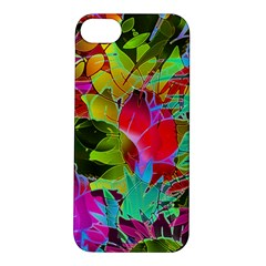 Floral Abstract 1 Apple Iphone 5s Hardshell Case