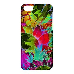 Floral Abstract 1 Apple iPhone 5C Hardshell Case