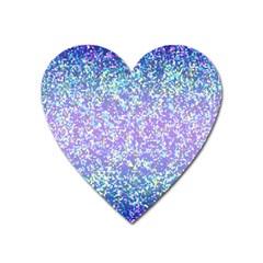 Glitter2 Magnet (Heart)