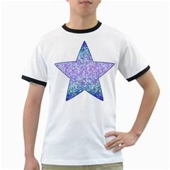 Glitter2 Men s Ringer T-shirt