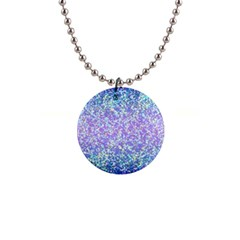 Glitter2 Button Necklace