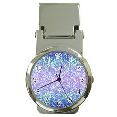 Glitter2 Money Clip with Watch