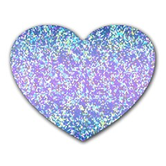 Glitter2 Mouse Pad (Heart)