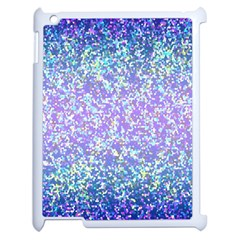 Glitter2 Apple iPad 2 Case (White)