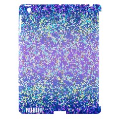 Glitter2 Apple Ipad 3/4 Hardshell Case (compatible With Smart Cover)