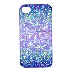 Glitter2 Apple Iphone 4/4s Hardshell Case With Stand