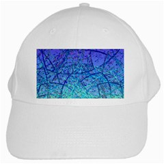 Grunge Art Abstract G57 White Cap
