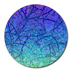 Grunge Art Abstract G57 Round Mousepad