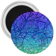 Grunge Art Abstract G57 3  Magnet