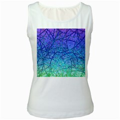 Grunge Art Abstract G57 Women s Tank Top
