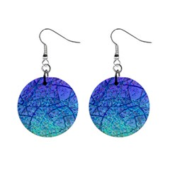 Grunge Art Abstract G57 1  Button Earrings
