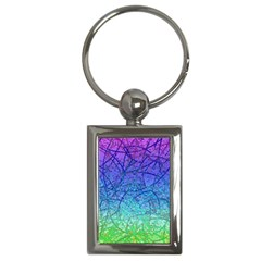Grunge Art Abstract G57 Key Chain (Rectangle)