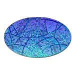 Grunge Art Abstract G57 Magnet (Oval) Front