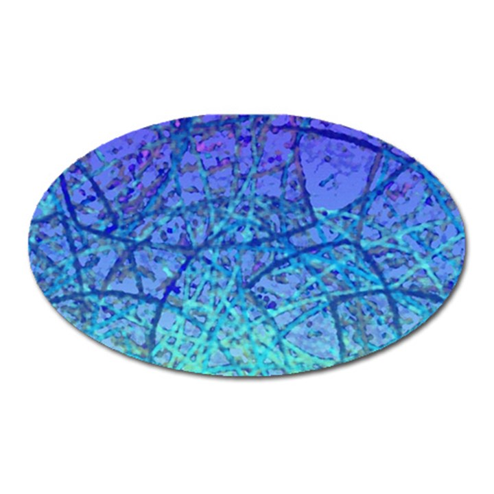 Grunge Art Abstract G57 Magnet (Oval)