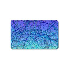 Grunge Art Abstract G57 Magnet (Name Card)