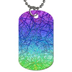 Grunge Art Abstract G57 Dog Tag (One Side)
