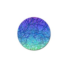 Grunge Art Abstract G57 Golf Ball Marker (4 pack)