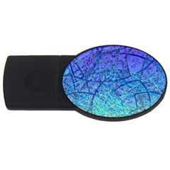 Grunge Art Abstract G57 USB Flash Drive Oval (2 GB)