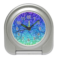 Grunge Art Abstract G57 Travel Alarm Clock
