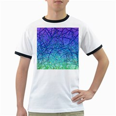 Grunge Art Abstract G57 Ringer T