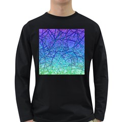 Grunge Art Abstract G57 Long Sleeve Dark T-Shirt