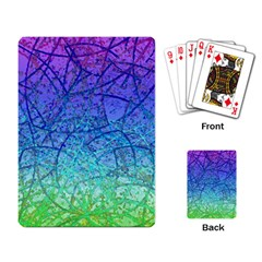 Grunge Art Abstract G57 Playing Cards Single Design