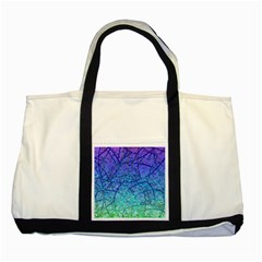 Grunge Art Abstract G57 Two Tone Tote Bag