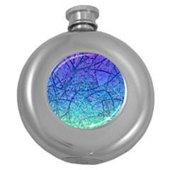 Grunge Art Abstract G57 Hip Flask (5 oz)