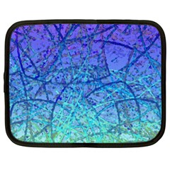 Grunge Art Abstract G57 Netbook Case (large)