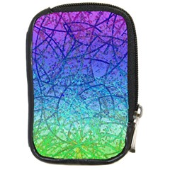 Grunge Art Abstract G57 Compact Camera Leather Case
