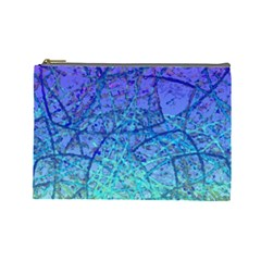 Grunge Art Abstract G57 Cosmetic Bag (Large)