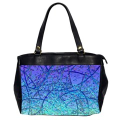 Grunge Art Abstract G57 Oversize Office Handbag (2 Sides)