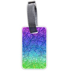 Grunge Art Abstract G57 Luggage Tag (one side)