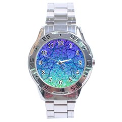 Grunge Art Abstract G57 Stainless Steel Analogue Watch