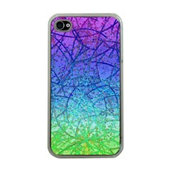 Grunge Art Abstract G57 Apple iPhone 4 Case (Clear)