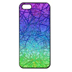 Grunge Art Abstract G57 Apple iPhone 5 Seamless Case (Black)