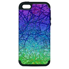 Grunge Art Abstract G57 Apple iPhone 5 Hardshell Case (PC+Silicone)