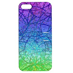 Grunge Art Abstract G57 Apple iPhone 5 Hardshell Case with Stand