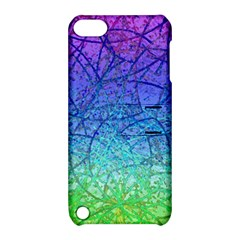 Grunge Art Abstract G57 Apple iPod Touch 5 Hardshell Case with Stand
