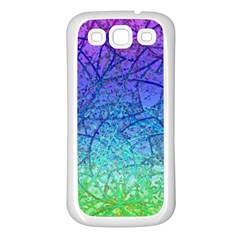 Grunge Art Abstract G57 Samsung Galaxy S3 Back Case (White)