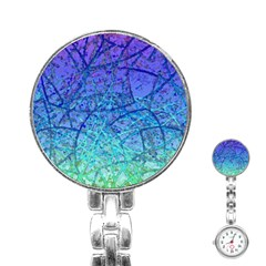 Grunge Art Abstract G57 Stainless Steel Nurses Watch