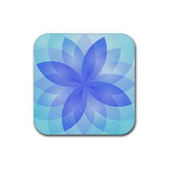 Abstract Lotus Flower 1 Drink Coasters 4 Pack (Square)