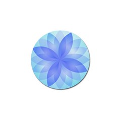 Abstract Lotus Flower 1 Golf Ball Marker 4 Pack