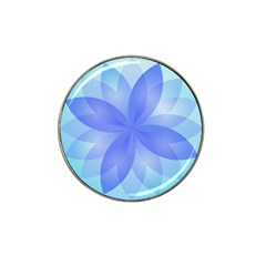 Abstract Lotus Flower 1 Golf Ball Marker 10 Pack (for Hat Clip)
